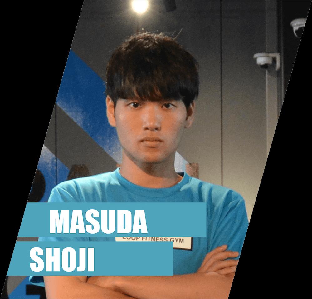 トレーナー増田の画像